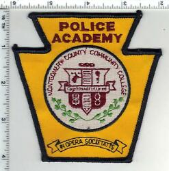 Montgomery County Police Academy Pennsylvania 1st Issue Shoulder Patch