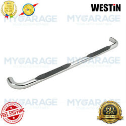 Westin For 2000-2006 Toyota Tundra E-series Round Nerf Bars Stainless 23-2510