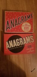 2 Anagram Games With Original Instructions. 1 By Transogram And 1 By Whitman