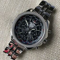 Breitling Bentley AB0521U4 B05 Unitime Stainless Steel Chronograph 49mm Watch