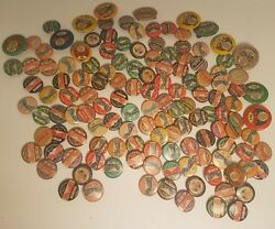 Vintage Train And Bus Transportation Division Union Buttons Lot Of 132 Collectible