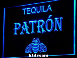 7 Colors Tequila Patron Bar Pub Beer Led Neon Light Sign Display Decor Gift New