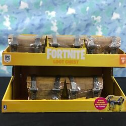Fortnite Loot Chest All 5 Different By Jazwares For 4 Figures Plus Display Box