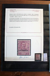 Stamps Foreign Occupation The Canea 1905 New Certificate F102665