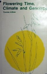 Flowering Time- Climate And Genotype by Aitken Yvonne - Book - Hard Cover