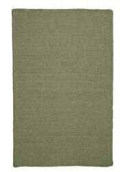 Westminster Palm Green Braided Area Rug/runner. Many Sizes. Wm60 Palm Green