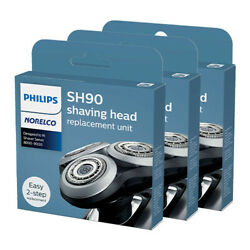 Philips Norelco Sh90 Shaving Replacement Heads For S9371 Model 3 Pack