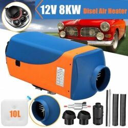 8KW 12V Auto Diesel Air Fuel Heater Parking For Trucks Motor-Homes Boats Bus XX