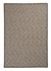 Natural Wool Houndstooth Latte Braided Area Rug/runner. Many Sizes. Hd32 Latte