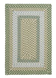 Montego Lily Pad Green Braided Area Rug/runner. Many Sizes. Mg19