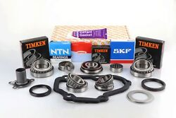 Vag T5 02z 5 Speed Pro Gearbox Bearing Rebuild Repair Kit With Seals And Gaskets