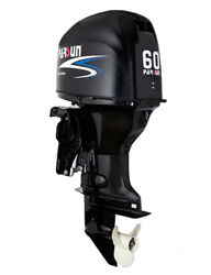 60 HP Parsun Outboard Motor with Power Tilt/Trim and Remote Controls