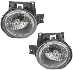 New Depo Headlight Set For 2011-2014 Juke Driver & Passenger Side