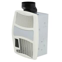 NuTone QT Series Very Quiet 110 CFM Ceiling Bathroom Exhaust Fan with Heater
