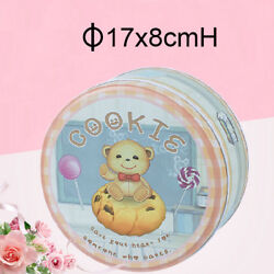 50 Baking Candy Boxes Halloween Easter Day Tin Cookies Box Sugar Metal Round Can