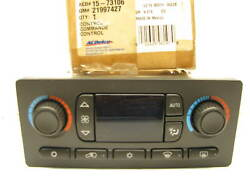 AcDelco 15-73106 AC Heater Climate Control Switch Panel 2004-06 GMC Sierra 1500