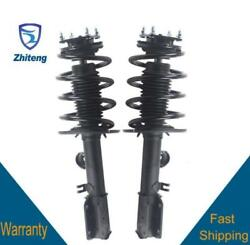 Front Pair Complete Strut Full Assembly Fit For 2013 2014 15 16 Ford Explorer
