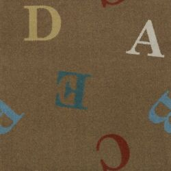 Love Letters Antique | Custom Area Rug Made-to-order Home And School Sizes And Shape