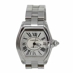 Stylish Cartier Roadster 2510 Stainless Steel Designer Automatic Deploy Watch