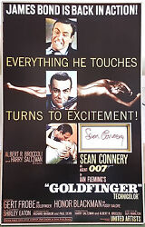 Sean Connery Signed 16x10 Photo Display James Bond Goldfinger And Dr No Coa