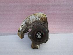Porsche Carrera 911 997 987 - Right Front Wheel Carrier Hub Spindle Knuckle Oem
