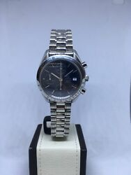 Omega Speedmaster Automatic Date Stainless Steel Blue Dial 3513.80
