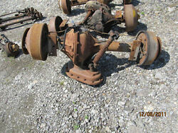 Tow Tractor Tug Axle For United Gse 4000 Lbs Draw Bar Rockwell Model Ta 267 Fhx