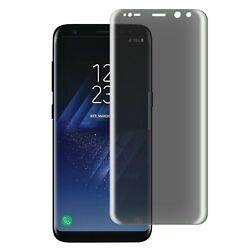 Compatible with Galaxy S8 Plus Privacy Screen Protector [Case Friendly Tempe...