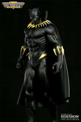 Black Panther Modern Version Sideshow Bowen 12 Inch Painted Statue RARE #186300