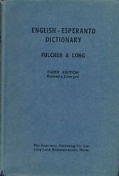 ENGLISH-ESPERANTO DICTIONARY - Hardcover *Excellent Condition*