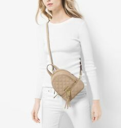 Michael kors mini quilted backpack crossbody haversack
