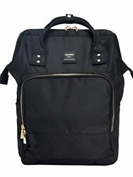 Kah&Kee Nylon Backpack Diaper Bag with Laptop Compartment Travel School for Man