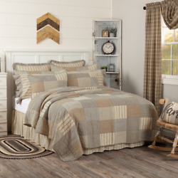 Sawyer Mill Charcoal Quilt Set/accessories. Choose Size/accessories. Vhc Brands