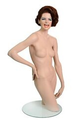 The Famous Decter Laughing Girl Vintage Female Mannequin.