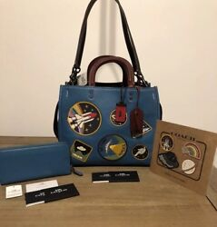 COACH 1941 Rogue NASA Space Patches & COACH 1941 Wallet & COACH Space Stickers