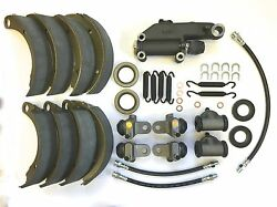 1946 1947 1948 Plymouth Brake Kit Cylinders Hoses Springs Shoes Seals Etc