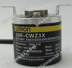 OMRON rotary encoder E6H-CWZ3X 1000PR hollow shaft OD40mm NEW In Box #OH19