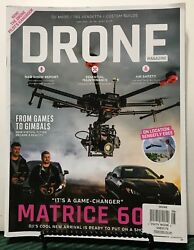Drone Magazine Matrices 600 Show Report Air Safety June 2016 Uk Free Shipping Jb