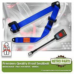 Front Automatic Seat Belt For Volvo 262c Bertoni Coupe 2dr 1977-1985 Blue