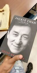 Jackie Chan Never Grow Up (Signed Edition)