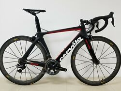 2018 Cervelo S5 54CM Aero Bike Di2 Dura Ace 9150 C24 Wheels (WORLDWIDE SHIPPING)