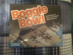 Boggle Bowel Word Game Parker Brothers Family Fun Vintage 1987 Complete New