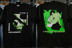 Vintage Type O Negative Christian Woman 69 Bloody Kisses 1994 Shirt Reprint New
