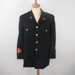Hobbs Corps Of Commissionaires Jacket And Leather Belt With Badge - Size 40r