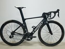 Specialized S works Venge Vias 52 Dura Ace Fulcrum Wheelset (WORLDWIDE SHIPPING)
