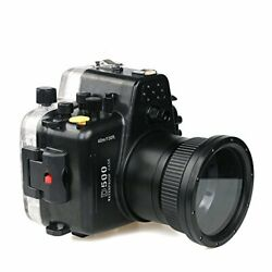 Polaroid SLR Dive Rated Waterproof Underwater Housing Case For Nikon 80D(105mm L