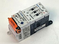 Eaton E04NB18X3N B-Frame Contact Block with E05NBXRB3A Solid State Overload