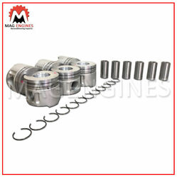 13101-17110-01 Piston And Ring Set Toyota 1hd-fte For Land Cruiser 24v 4.2l Diesel