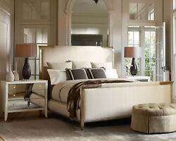 ORLEANS French Style Gold & Beige 3 pieces Bedroom Set w Queen King Sleigh Bed