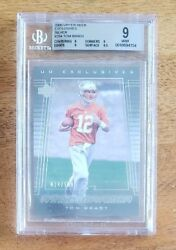 2000 Tom Brady Upper Deck Exclusives Silver Rookie Card RC BGS 9 Mint #024100